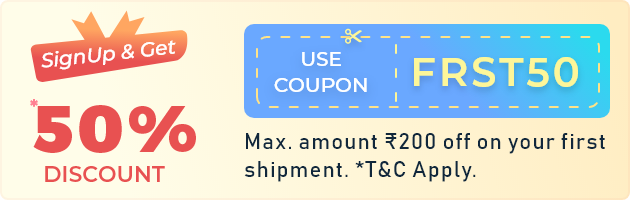 first international shipping discount